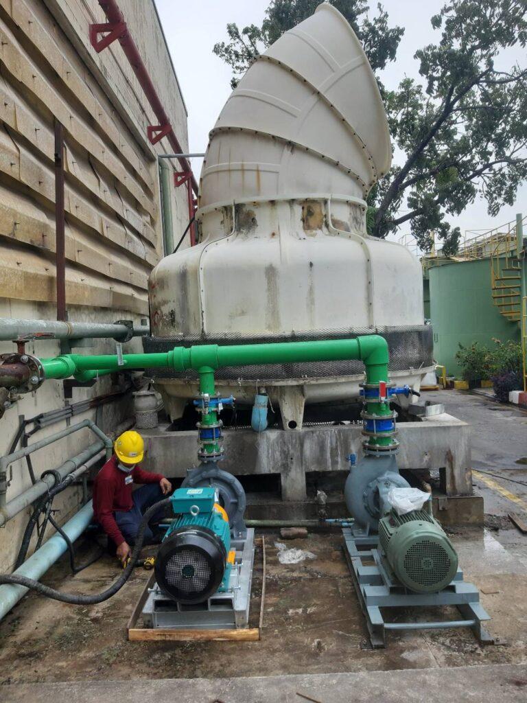 งานเปลี่ยนท่อน้ำ Cooling
